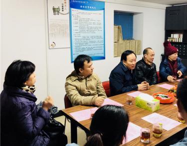 四川省驻沪办、省商会领导慰问川籍在沪一线务工人员